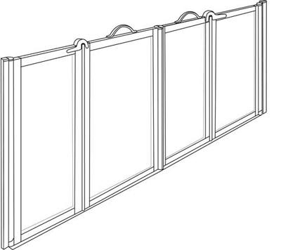 NC P 6832060 Pro Door Front Entry Bi Fold Door 1600mm OUR PRICE £